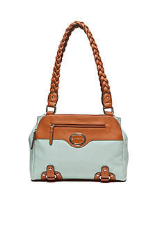 Rosetti Braided Persuasion Satchel