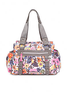 Lily Bloom Landon Triple Section Satchel