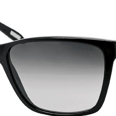 Fashion Sunglasses: Black Ralph by Ralph Lauren Large Retro Sunglasses