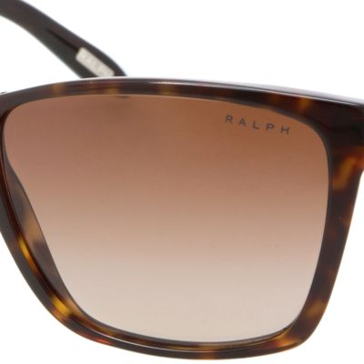 Fashion Sunglasses: Spot Tortoise Ralph by Ralph Lauren Large Retro Sunglasses