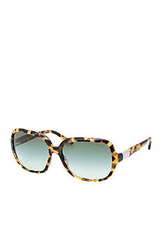 Ralph by Ralph Lauren Thin Frame Rectangle Sunglasses