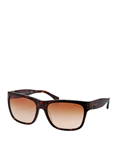 Ralph by Ralph Lauren Square Thick Temple Sunglasses