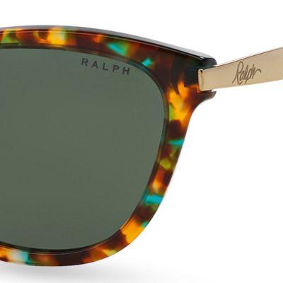 Handbags & Accessories: Ralph By Ralph Lauren Designer Sunglasses: Blue Tortoise Ralph by Ralph Lauren Havana Cateye Sunglasses