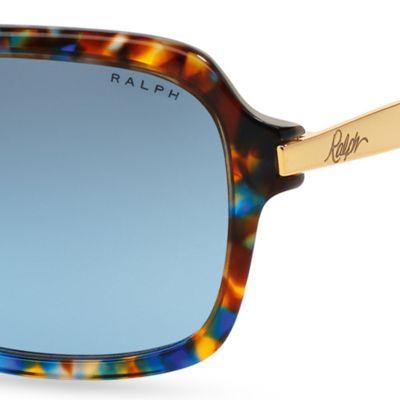 Handbags & Accessories: Ralph By Ralph Lauren Designer Sunglasses: Blue Tortoise Ralph by Ralph Lauren Extended Temple Sunglasses