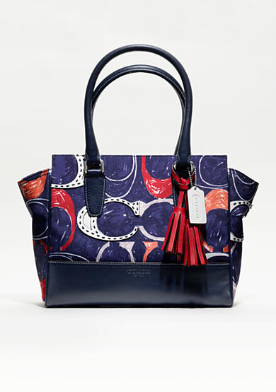 COACH LEGACY HERITAGE SIGNATURE C PRINT CANDACE CARRYALL<br>