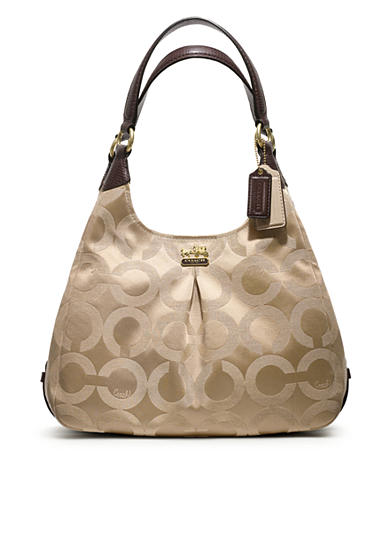 COACH MADISON OP ART SATEEN MAGGIE