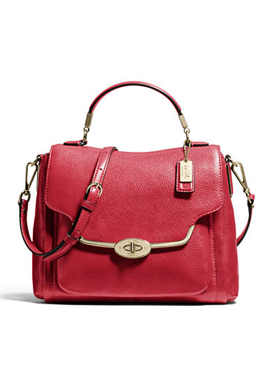 COACH MADISON SMALL SADIE FLAP SATCHEL