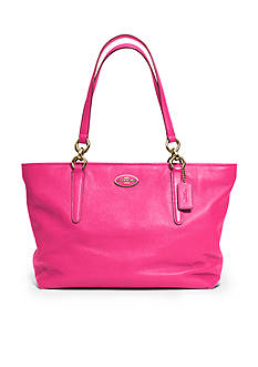 COACH LEATHER ELLIS TOTE
