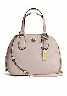 COACH CROSSGRAIN LEATHER PRINCE STREET MINI SATCHEL