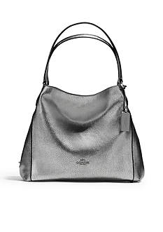COACH Refined Pebble Leather Edie 31 Shoulder Bag