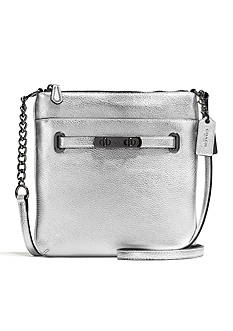 COACH COACH SWAGGER SWINGPACK IN POLISHED PEBBLE LEATHER