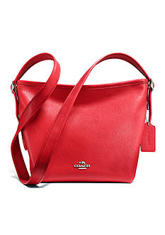 COACH PEBBLE LEATHER MINI DUFFLETTE