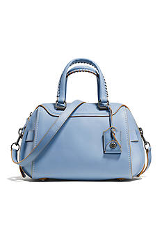 COACH GLOVETANNED LEATHER ACE SATCHEL