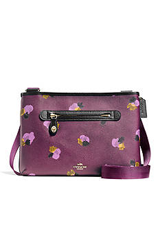 COACH FLORAL PRINT COATED CANVAS TAYLOR CROSSBODY
