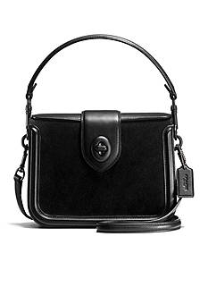 COACH Page Crossbody in Mixed Leather