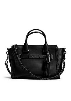 COACH RIP AND REPAIR COACH SWAGGER CARRYALL IN GLOVETANNED LEATHER