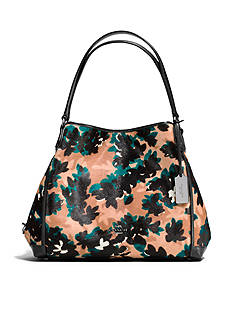 COACH Edie Shoulder Bag 31 in Printed Haircalf