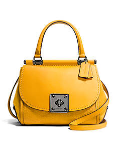 COACH Drifter Top Handle Satchel Bag In Mixed Leather