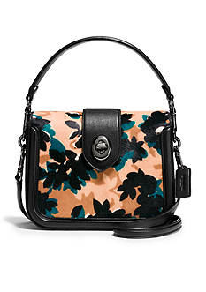 COACH Page Crossbody in Printed Haircalf