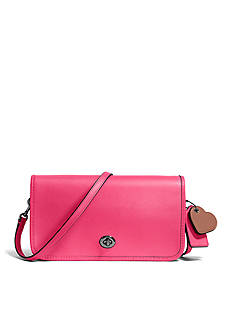 COACH TURNLOCK CROSSBODY IN GLOVETANNED LEATHER