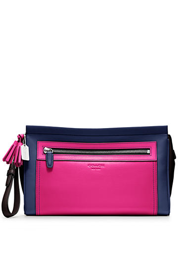 COACH LEGACY COLORBLOCK LARGE CLUTCH