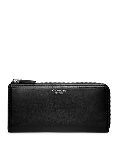 COACH LEGACY LEATHER SLIM ZIP WALLET<br>