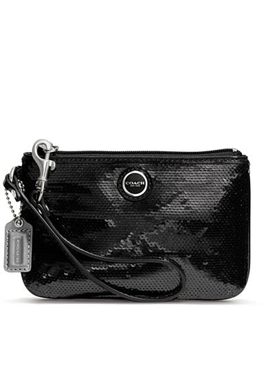 COACH POPPY SEQUIN SMALL WRISTLET