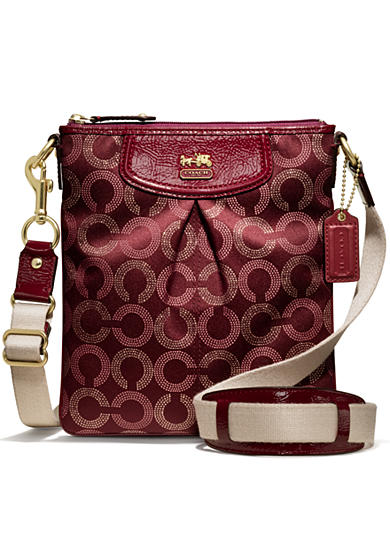 COACH MADISON DOTTED OP ART CLASSIC SWINGPACK
