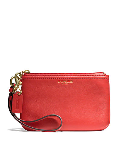 COACH LEATHER SMALL WRISTLET