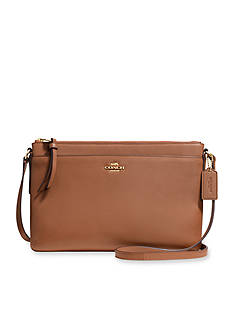 COACH LEATHER EAST WEST SWINGPACK