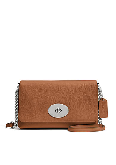 COACH Crosstown Crossbody in Pebbled Leather