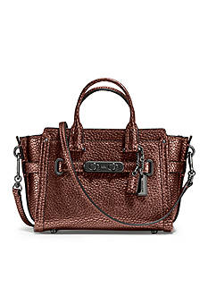 COACH Swagger 15 Bag in Pebble Leather