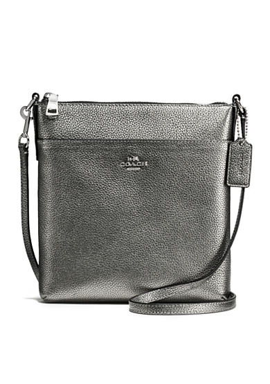 COACH Courier Crossbody in Polished Pebble Leather