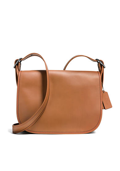 COACH Saddle Bag In Glovetanned Leather