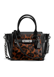 COACH Swagger 21 Bag in Printed Haircalf