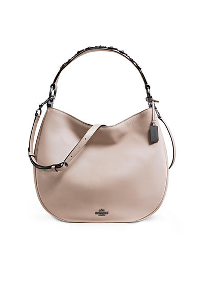 COACH Willow Floral Nomad Hobo in Glovetanned Leather