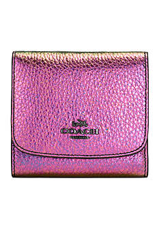 COACH SMALL WALLET IN HOLOGRAM LEATHER