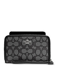 COACH Boxed Zip Around Wallet
