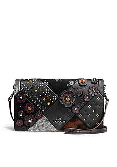 COACH Embellished Canyon Quilted Crossbody