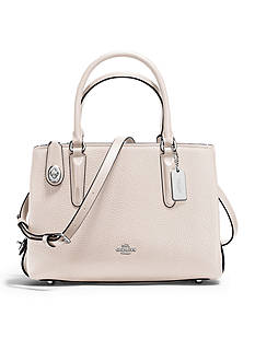 COACH Brooklyn Carryall 28-in. Pebble Leather