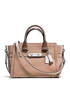 COACH Swagger 27-in. Colorblock Leather Bag
