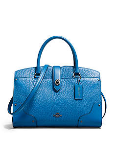 COACH Mercer Satchel 30 in Mixed Leather