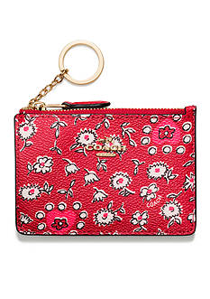 COACH Boxed Mini Skinny in Hearts Print Coated Canvas