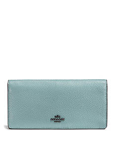 COACH Slim Wallet in Colorblock Leather