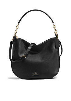 COACH Chelsea Hobo 32 In Polished Pebble Leather