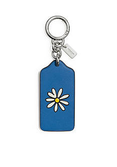 COACH Boxed Flowers Hangtag Bag Charm