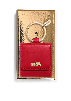 COACH BOXED HORSE AND CARRIAGE PICTURE FRAME KEY RING