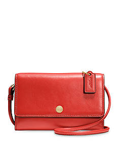COACH LEATHER PHONE CROSSBODY
