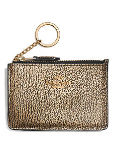 COACH SMOOTH LEATHER MINI ID SKINNY CASE