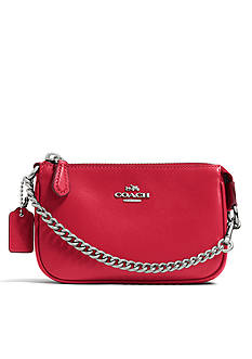 COACH LEATHER NOLITA 15 WRISTLET